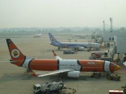 furaibo123さんが、ドンムアン空港で撮影したノックエア 737-83Nの航空フォト(飛行機 写真・画像)