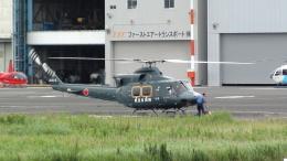 Mizuki24さんが、東京ヘリポートで撮影した朝日航洋 412の航空フォト(飛行機 写真・画像)