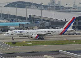SGさんが、関西国際空港で撮影したロイヤル・ネパール航空 757-2F8Cの航空フォト(飛行機 写真・画像)