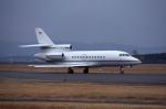 kumagorouさんが、仙台空港で撮影したゲストエア Falcon 900Bの航空フォト(飛行機 写真・画像)