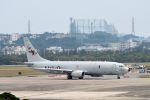 うめやしきさんが、嘉手納飛行場で撮影したアメリカ海軍 P-8A (737-8FV)の航空フォト(写真)