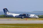 Kuuさんが、那覇空港で撮影したオーロラ DHC-8-311Q Dash 8の航空フォト(飛行機 写真・画像)