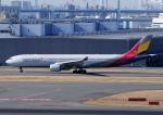 じーく。さんが、羽田空港で撮影したアシアナ航空 A330-323Xの航空フォト(飛行機 写真・画像)