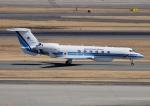 じーく。さんが、羽田空港で撮影した海上保安庁 G-V Gulfstream Vの航空フォト(飛行機 写真・画像)