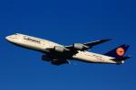げんこつさんが、羽田空港で撮影したルフトハンザドイツ航空 747-830の航空フォト(写真)