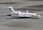 じーく。さんが、羽田空港で撮影したウィルミントン・トラスト・カンパニー Gulfstream G650 (G-VI)の航空フォト(飛行機 写真・画像)