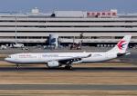 じーく。さんが、羽田空港で撮影した中国東方航空 A330-343Xの航空フォト(飛行機 写真・画像)