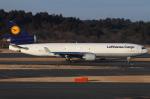 つみネコ♯2さんが、成田国際空港で撮影したルフトハンザ・カーゴ MD-11Fの航空フォト(写真)
