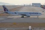 amagoさんが、関西国際空港で撮影したカタール航空 A330-202の航空フォト(写真)