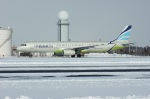 北の熊さんが、新千歳空港で撮影したエアプサン A321-231の航空フォト(飛行機 写真・画像)