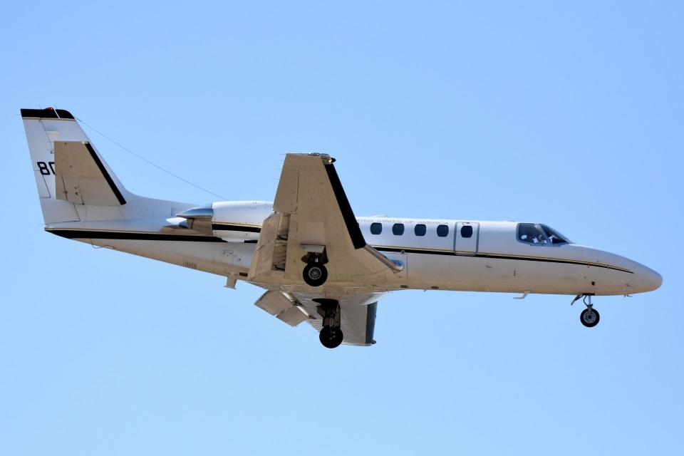 tsubasa0624さんのアメリカ海軍 Cessna 560 Citation V/Ultra/Encore (80006) 航空フォト