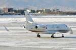 Dojalanaさんが、函館空港で撮影したMacau Jet International Falcon 2000の航空フォト(飛行機 写真・画像)