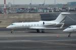 tsubasa0624さんが、羽田空港で撮影したユタ銀行 G-IV-X Gulfstream G450の航空フォト(飛行機 写真・画像)