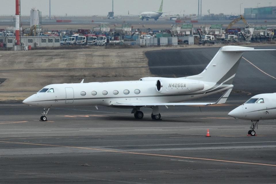 tsubasa0624さんのユタ銀行 Gulfstream Aerospace G350/G450 (G-IV) (N426GA) 航空フォト