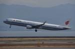 tsubasa0624さんが、関西国際空港で撮影した中国国際航空 A321-213の航空フォト(飛行機 写真・画像)