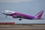 tsubasa0624さんが、関西国際空港で撮影したピーチ A320-214の航空フォト(写真)