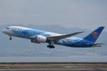 tsubasa0624さんが、関西国際空港で撮影した中国南方航空 787-8 Dreamlinerの航空フォト(写真)