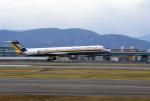 Hiroyuki.Sさんが、福岡空港で撮影した日本エアシステム MD-81 (DC-9-81)の航空フォト(写真)