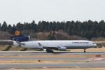 ATOMさんが、成田国際空港で撮影したルフトハンザ・カーゴ MD-11Fの航空フォト(飛行機 写真・画像)