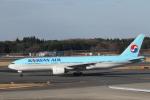 ATOMさんが、成田国際空港で撮影した大韓航空 777-2B5/ERの航空フォト(写真)