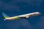 こだしさんが、羽田空港で撮影したAIR DO 767-381の航空フォト(写真)