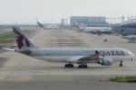 SFJ_capさんが、関西国際空港で撮影したカタール航空 A330-202の航空フォト(写真)
