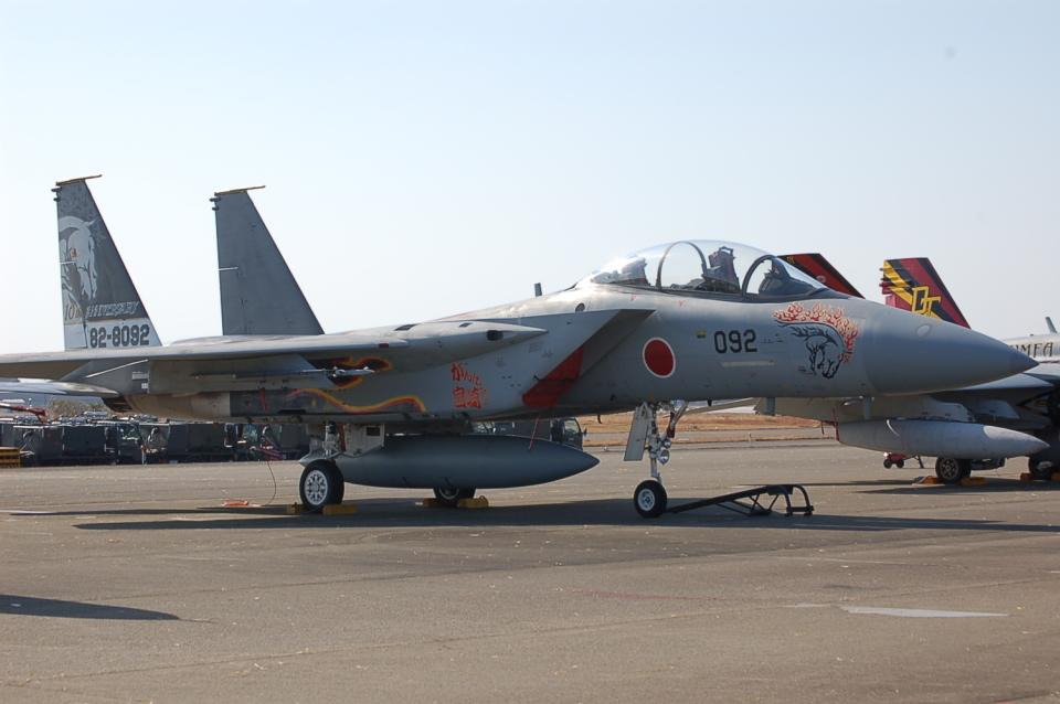 ygfdcxzさんの航空自衛隊 Mitsubishi F-15DJ Eagle (82-8092) 航空フォト