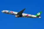 RUSSIANSKIさんが、シンガポール・チャンギ国際空港で撮影したエバー航空 777-36N/ERの航空フォト(飛行機 写真・画像)