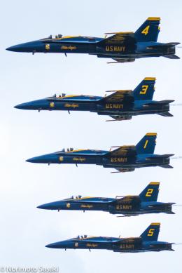 norimotoさんが、カネオヘ・ベイ海兵隊航空基地で撮影したアメリカ海軍 F/A-18C Hornetの航空フォト(飛行機 写真・画像)