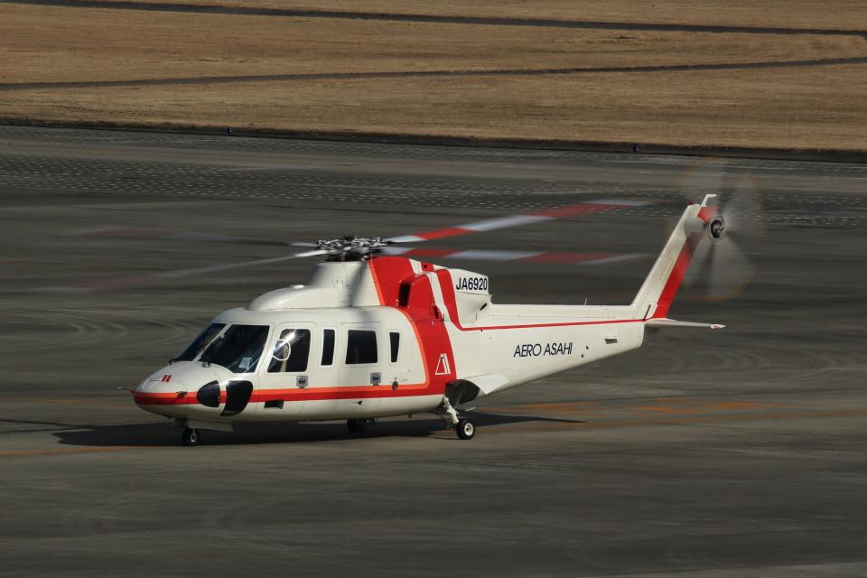 T.Sazenさんの朝日航洋 Sikorsky S-76 (JA6920) 航空フォト