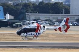 T.Sazenさんが、名古屋飛行場で撮影した中日本航空 EC135P2+の航空フォト(写真)