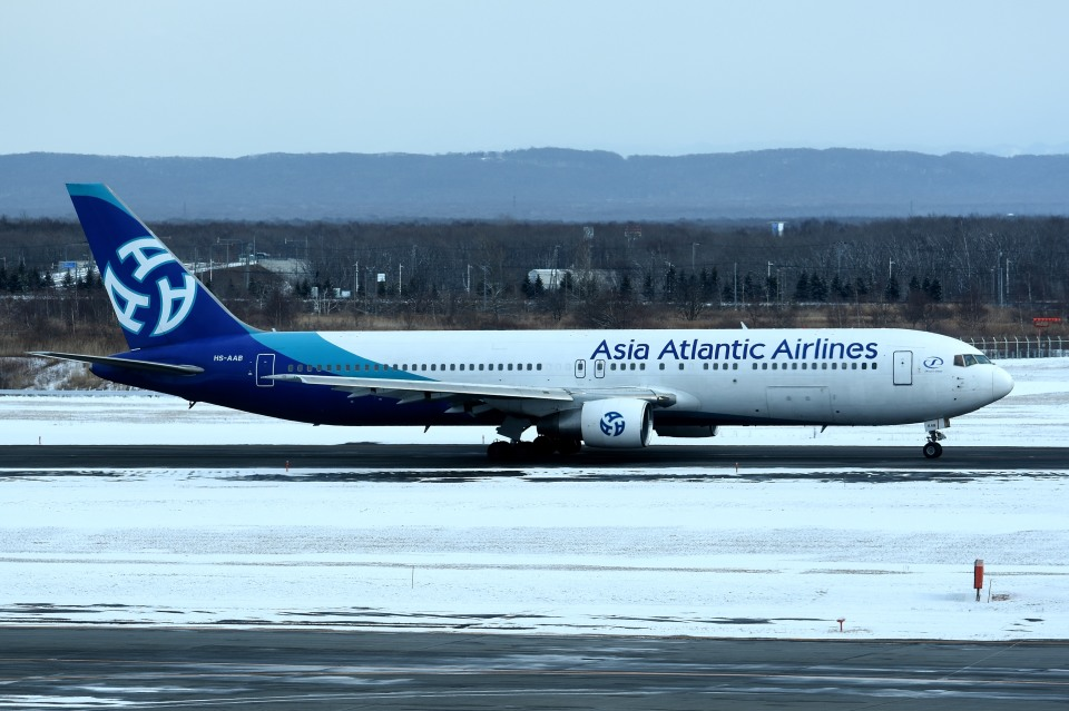 tsubasa0624さんのアジア・アトランティック・エアラインズ Boeing 767-300 (HS-AAB) 航空フォト