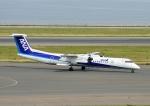 じーく。さんが、中部国際空港で撮影したANAウイングス DHC-8-402Q Dash 8の航空フォト(写真)