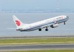 じーく。さんが、中部国際空港で撮影した中国国際航空 737-89Lの航空フォト(飛行機 写真・画像)