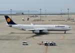 じーく。さんが、中部国際空港で撮影したルフトハンザドイツ航空 A340-313Xの航空フォト(写真)