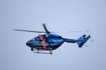 T.Sazenさんが、名古屋飛行場で撮影した愛知県警察 BK117B-2の航空フォト(飛行機 写真・画像)