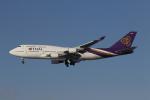 cal99さんが、新千歳空港で撮影したタイ国際航空 747-4D7の航空フォト(写真)