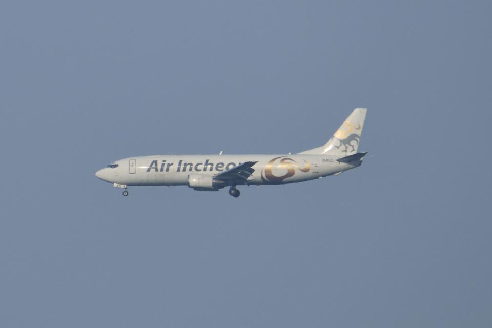 ポン太さんのエア・インチョン Boeing 737-400 (HL8271) 航空フォト