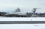 北の熊さんが、新千歳空港で撮影したAvcon ジェット G-V-SP Gulfstream G550 Eitamの航空フォト(飛行機 写真・画像)