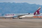 pinama9873さんが、関西国際空港で撮影したカタール航空 A330-202の航空フォト(写真)