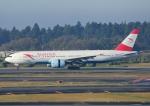 じーく。さんが、成田国際空港で撮影したオーストリア航空 777-2Z9/ERの航空フォト(写真)