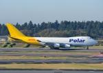 じーく。さんが、成田国際空港で撮影したポーラーエアカーゴ 747-46NF/SCDの航空フォト(飛行機 写真・画像)