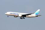まいけるさんが、スワンナプーム国際空港で撮影したユーロアトランティック・エアウェイズ 777-212/ERの航空フォト(写真)