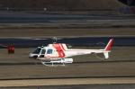 T.Sazenさんが、名古屋飛行場で撮影した朝日航洋 AS350B3 Ecureuilの航空フォト(飛行機 写真・画像)
