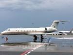 toyokoさんが、羽田空港で撮影したウガンダ政府 G-V-SP Gulfstream G550の航空フォト(写真)