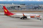 山河 彩さんが、関西国際空港で撮影した雲南祥鵬航空 737-808の航空フォト(写真)