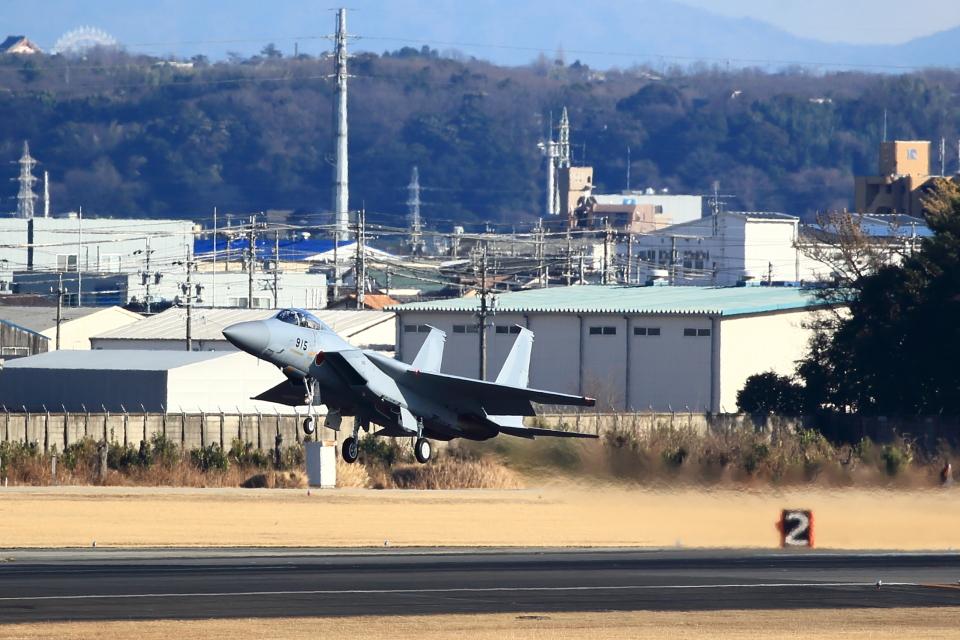 T.Sazenさんの航空自衛隊 Mitsubishi F-15J Eagle (02-8915) 航空フォト