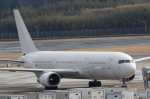 まっくうさんが、成田国際空港で撮影したメガ・モルディブ・エア 767-306/ERの航空フォト(写真)