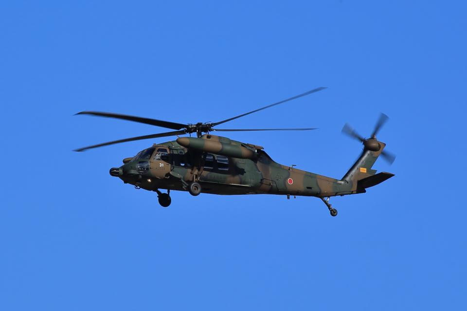 T.Sazenさんの陸上自衛隊 Mitsubishi UH-60JA (43131) 航空フォト