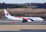 じーく。さんが、成田国際空港で撮影したマレーシア航空 737-8H6の航空フォト(飛行機 写真・画像)